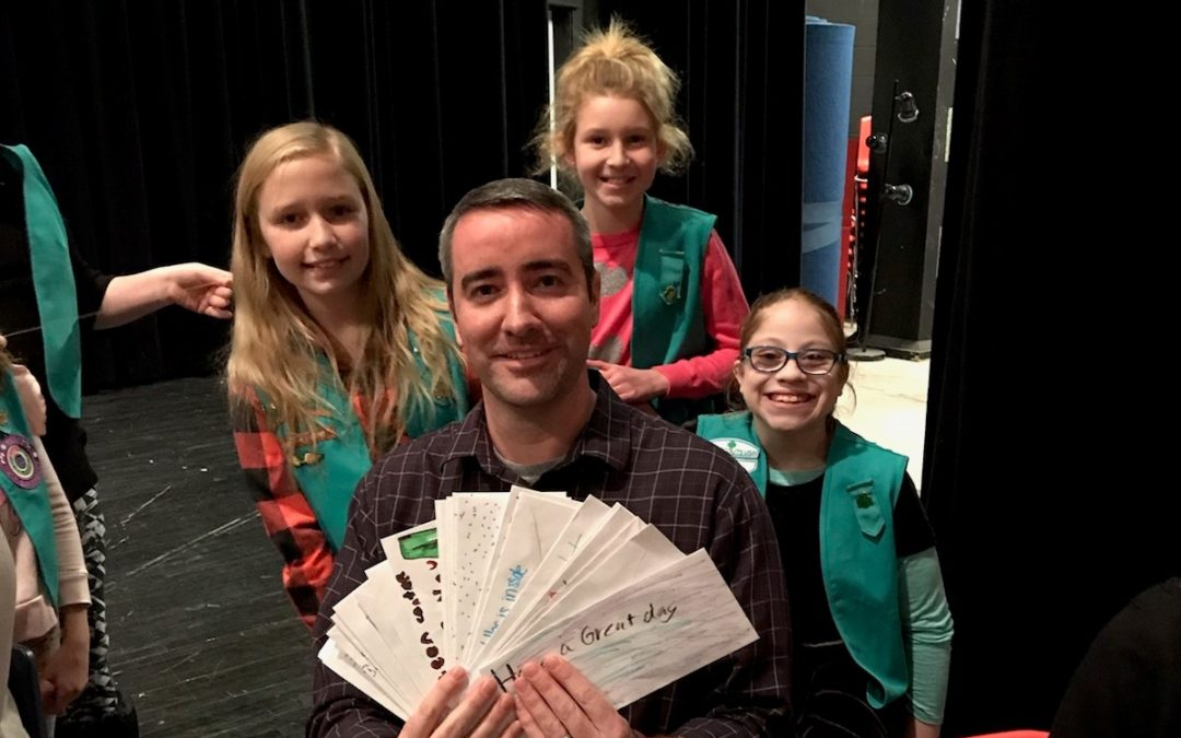 Girl Scout Troop 4455 Make Donation